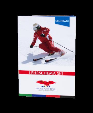 Lehrplan Ski-alpin im Taschenformat.